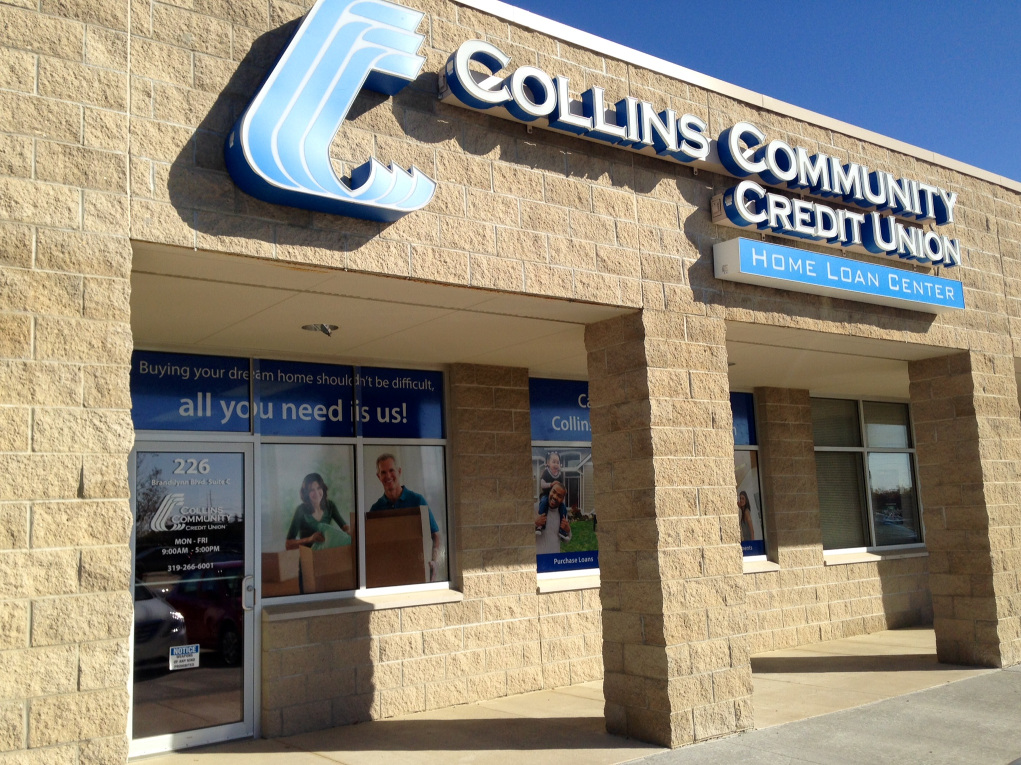 Cedar falls home loan center collins community credit union Cedar credit